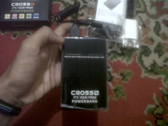 charger portable cross X